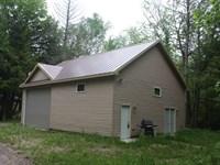 Cabin On The Beautiful Pike Lake : Fifield : Price County : Wisconsin