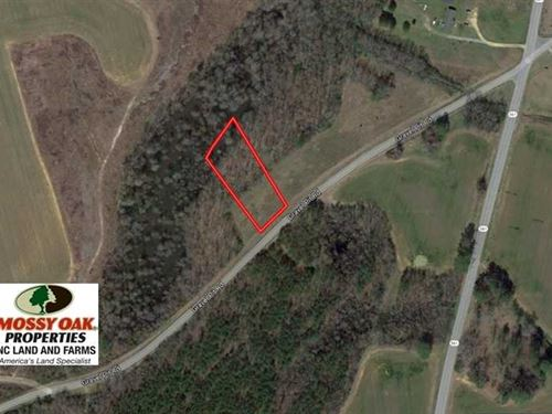 Under Contract,.89 Acres of Res : Tillery : Halifax County : North Carolina