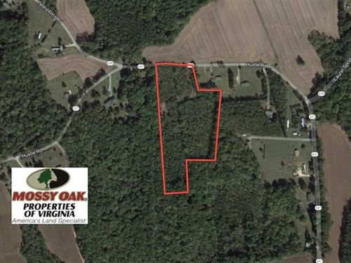 10 Acres of Hunting Land For Sale : Hustle : Essex County : Virginia