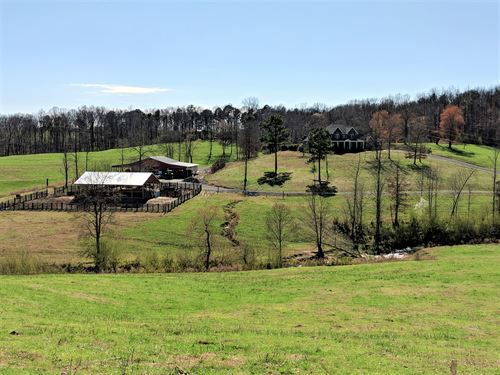 Poultry Farm, Home, & 78+/- Ac : Cullman : Alabama