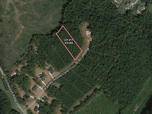 1 Acres in Brawley Woods, Irede : Mooresville : Iredell County : North Carolina