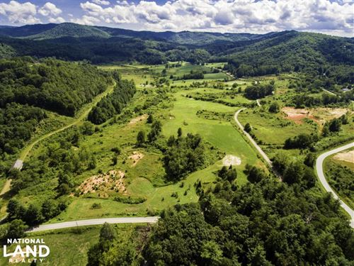 Rolling Meadows With Creeks And Vie : Hendersonville : Henderson County : North Carolina