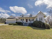 Home On 5 Acres W/Private Pond : Milledgeville : Baldwin County : Georgia
