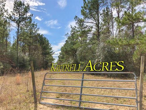 Kittrell Acres Fm 230 : Trinity : Walker County : Texas