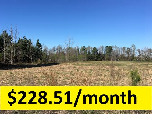 Ample Acreage In Excellent Location : Swainsboro : Emanuel County : Georgia