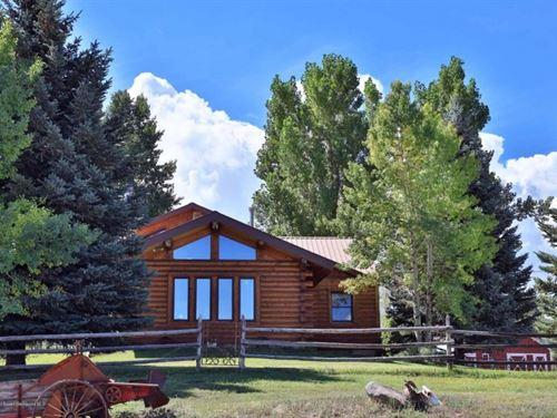 Colorado Ranch : Collbran : Mesa County : Colorado
