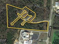 Land. Approx 13.85Ac Lot : Tallassee : Tallapoosa County : Alabama