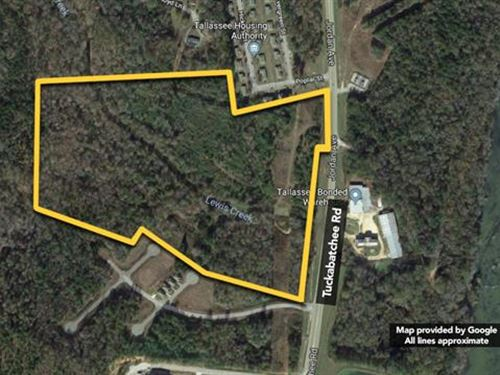 Opening Bid Reduced To $100,000 : Tallassee : Elmore County : Alabama