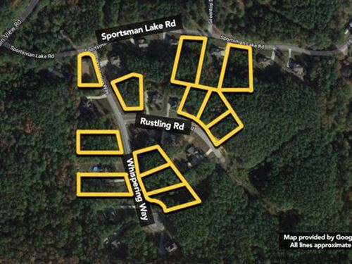 Land. Approx 12Ac Lot : Odenville : Saint Clair County : Alabama