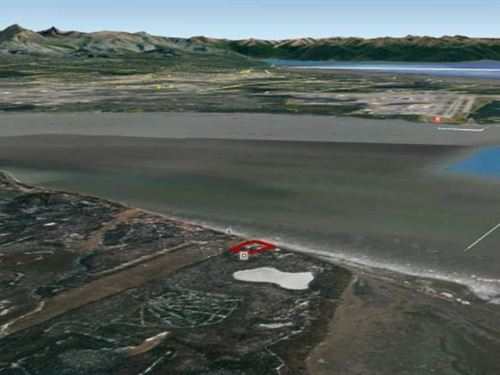 4.42 Acres on Cook Inlet, Beach : Wasilla : Matanuska-Susitna Borough : Alaska