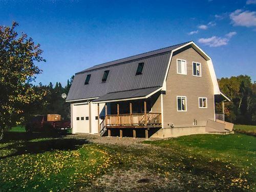 Katahdin Area Home : Hersey : Aroostook County : Maine
