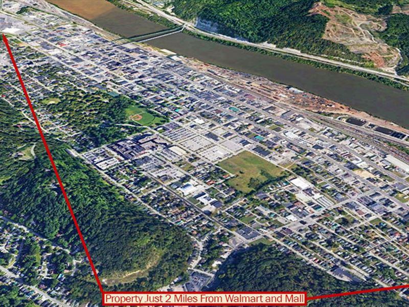 Beautiful Lot Along Ohio River : Ashland : Boyd County : Kentucky