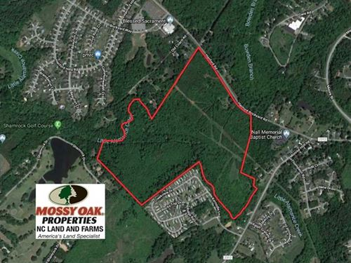 Under Contract, 100 Acres of Deve : Graham : Alamance County : North Carolina