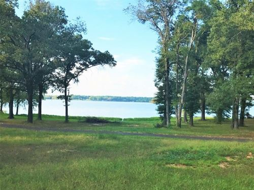 Lake Quitman Water Front Lot : Quitman : Wood County : Texas