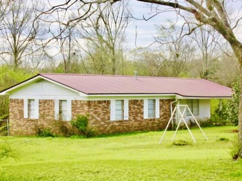 4 Acres Pasture, Brick Home For Sal : Magee : Smith County : Mississippi