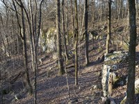 Home Set In Magnificent Landscape : Hayden : Blount County : Alabama