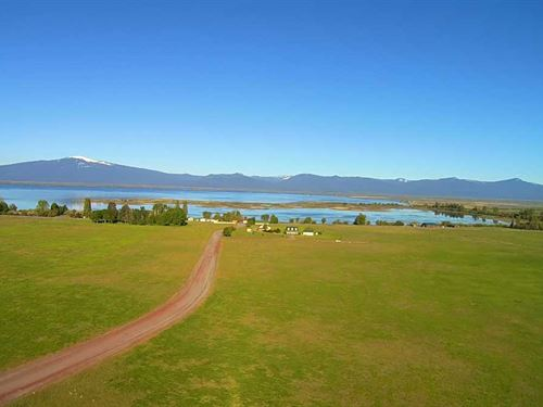 5 Acres W/ Lake And Mountain Views : Chiloquin : Klamath County : Oregon