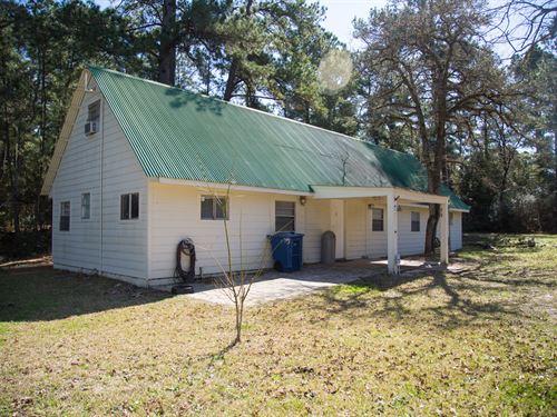 Grimes Cabin : Anderson : Grimes County : Texas