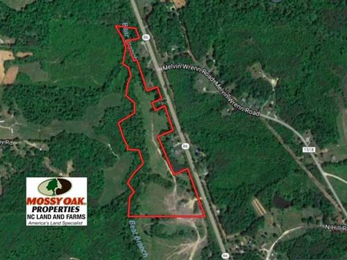Under Contract, 26 Acres of Hunti : Yanceyville : Caswell County : North Carolina