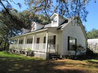 Home/Barn/13.4 Acres/60 Acre Lease : Tylertown : Walthall County : Mississippi