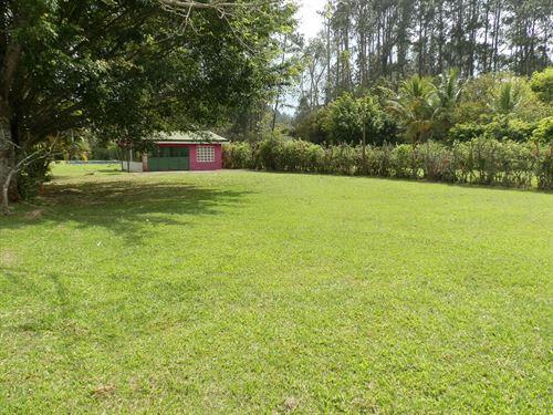 Cabin On Level Lot Near Lake Cachi : Orosi Valley : Costa Rica