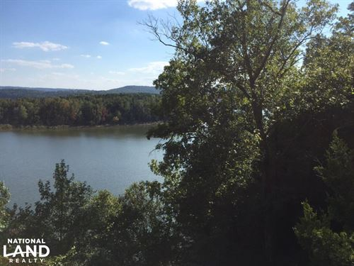 Burnt Ridge Rd Lakefront Lot 3 on : Shirley : Van Buren County : Arkansas