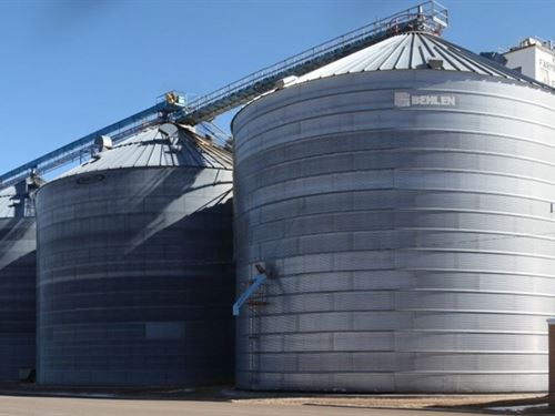 Farmers Grain Co Retirement Auction : Julesburg : Sedgwick County : Colorado