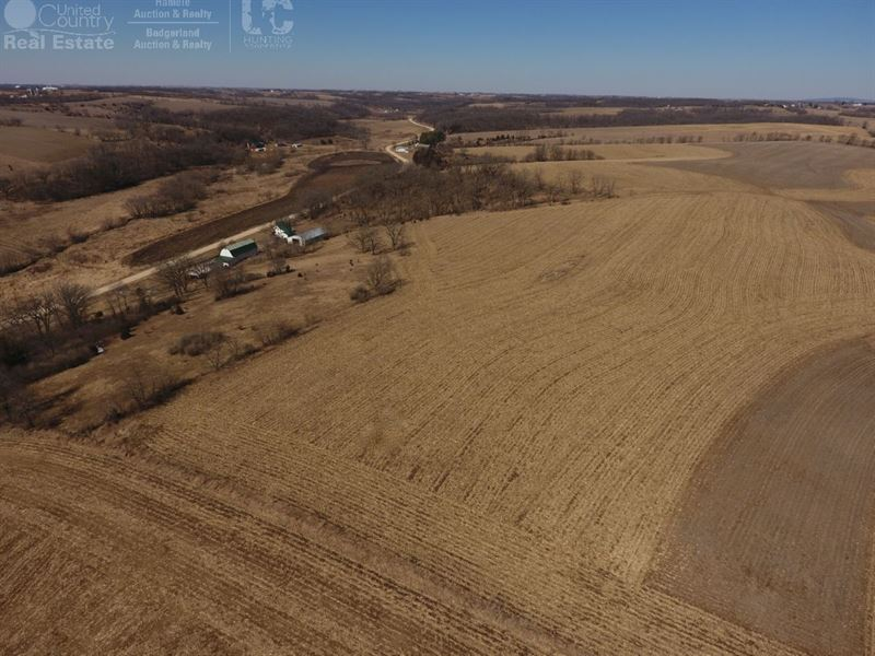 Handsome Investment Farm For Sale : Blanchardville : Lafayette County : Wisconsin