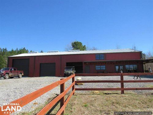 184 Acres & Lodge in Attala County : Kosciusko : Attala County : Mississippi