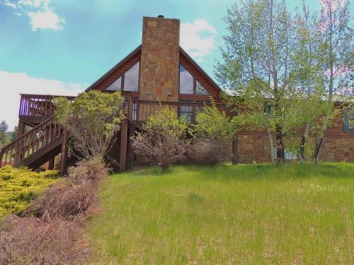 Cabin With Acreage : Pagosa Springs : Archuleta County : Colorado