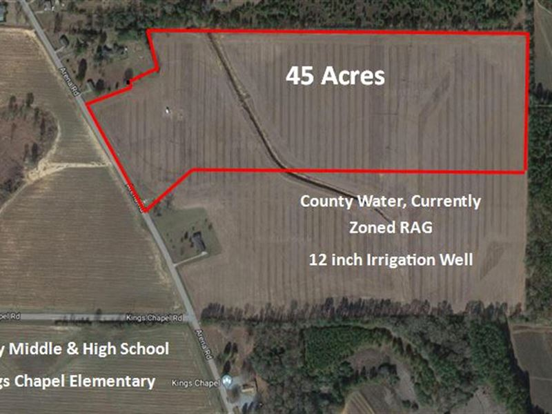 Subdivision Development Property : Perry : Houston County : Georgia