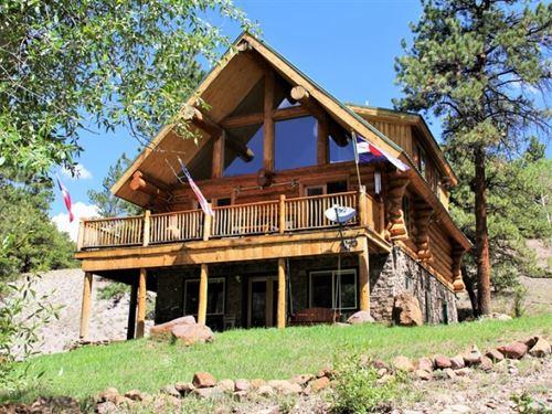 Park Creek Cabin : Lake City : Hinsdale County : Colorado