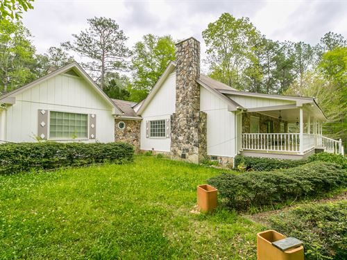 3Br/2.5Ba Home On 5.09 Acres : Newborn : Jasper County : Georgia