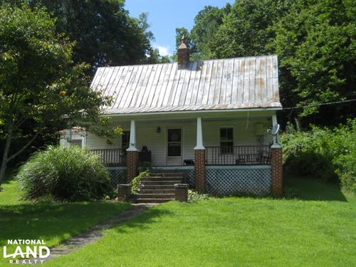 Quaint Farm And Hunting Property : Green Mountain : Mitchell County : North Carolina