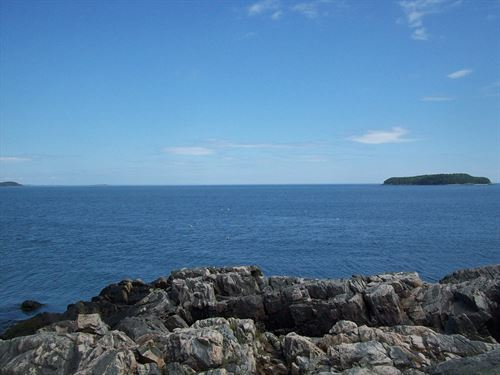 Loon Point Oceanfront Acreage : Jonesport : Washington County : Maine