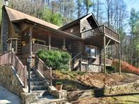 Mountain Cabin On Beautiful Stream : Burnsville : Yancey County : North Carolina