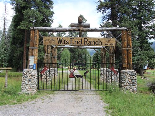 The Wit's End Guest Ranch : Bayfield : La Plata County : Colorado