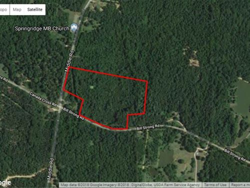 22 Acres Located Just Miles fr : Edwards : Hinds County : Mississippi