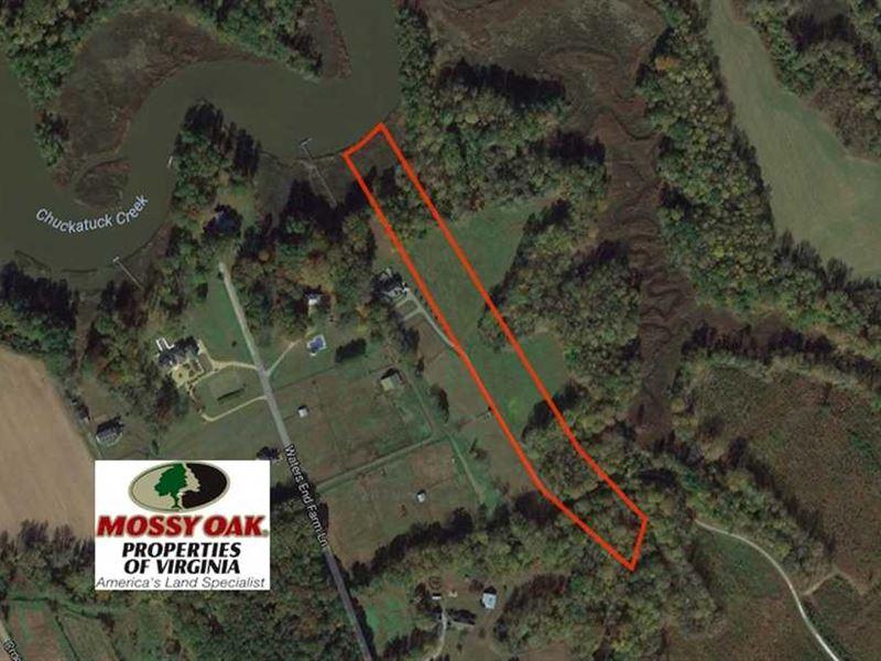Under Contract, 6.87 Acres of Res : Suffolk : Suffolk County : Virginia
