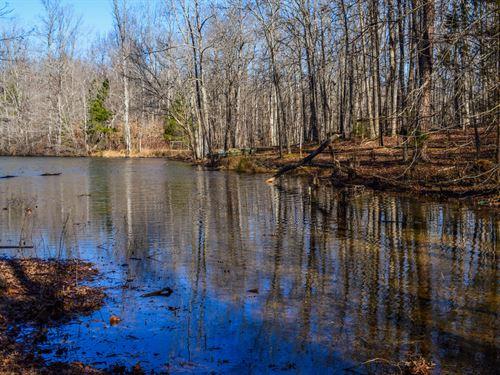 Residential Lot On The Grain Pond : Spartanburg : South Carolina