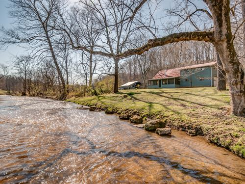 244 Acre Retreat : Franklin : Williamson County : Tennessee