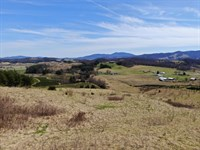 Mini Farm With 43 Acres : Elk Creek : Grayson County : Virginia