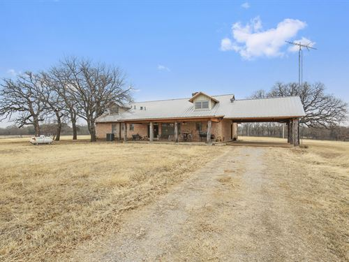High Fenced Hunting Ranch In Erath : Gordon : Erath County : Texas