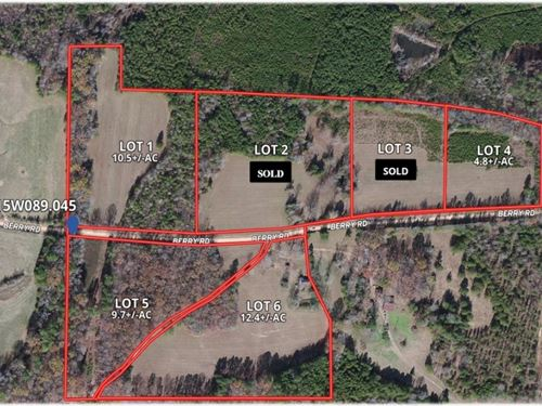 10.5 Acres In Webster County Lot 1 : Cumberland : Webster County : Mississippi