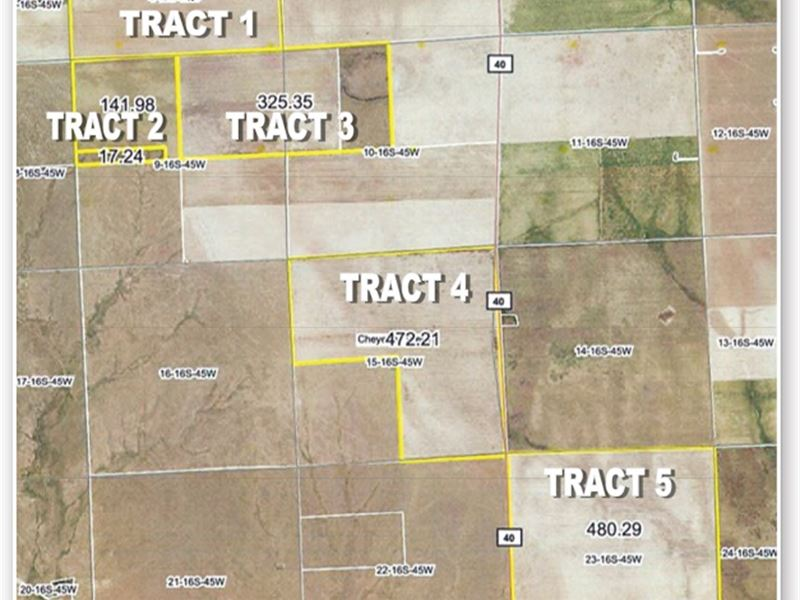 Absolute Land Auction : Cheyenne Wells : Cheyenne County : Colorado
