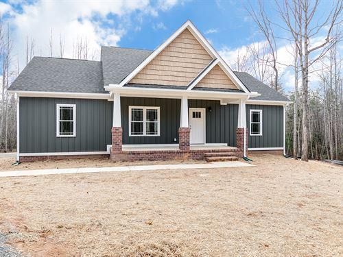9.1 Acres In Goochland W/ New Home : Goochland : Virginia