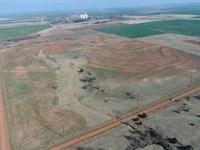 Grassland, Cropland, Pond And Shop : Bison : Garfield County : Oklahoma
