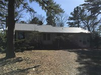 6 Acres, Nice Older Rock Home : Evening Shade : Sharp County : Arkansas