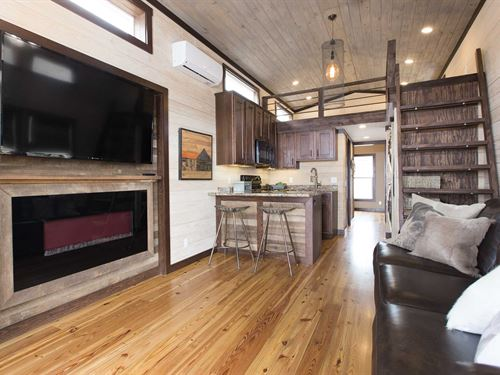 Luxury Tiny Homes & Rv Lots : Blue Ridge : Fannin County : Georgia