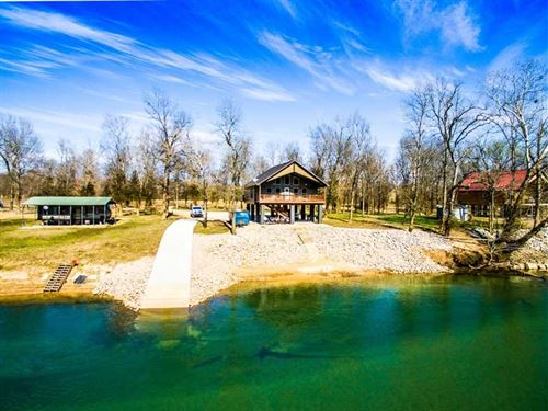 Current River Home For Sale in Don : Doniphan : Ripley County : Missouri